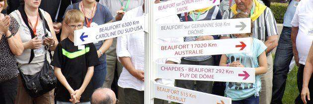 20e rassemblement des Beaufort 2014 en Maine-et-Loire