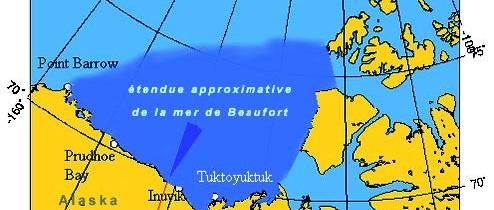 Les Beaufort qui ont fait parler d'eux… La mer de Beaufort